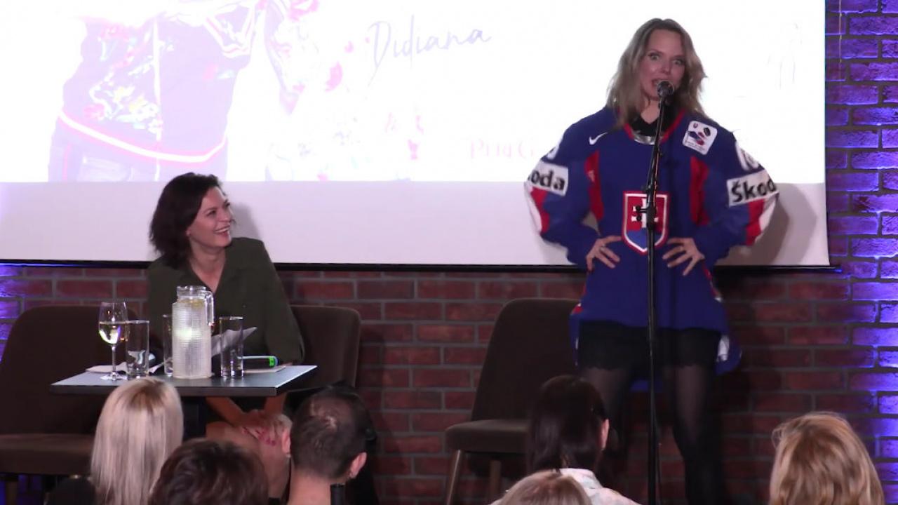8c4ef255a2c2 Tento hokejový tanec by mala poznať každá slovenská žena!